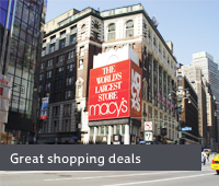 Great shopping deals