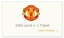 Manchester United Match Ticket